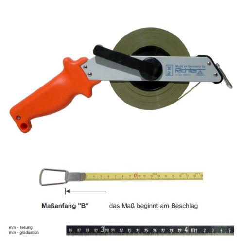 Juge Acier Mètre pas rostend mètre 464sr-B//mm 10-100m cadre mètre