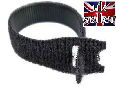 VELCRO® Brand Hook and loop ONE-WRAP® back 2 back Strapping 10mm Red X 2metres