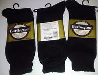 Burlington Dress Sized Cotton Crew Sock, Shoe Size 6 - 6 1/2, Blk, 6 Pr $19.99