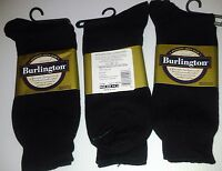 Burlington Dress Sized Cotton Crew Sock, Shoe Size 6-6 1/2, Black, 24 Pr $35.99
