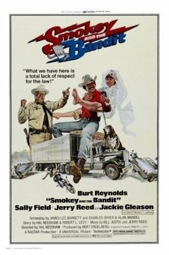 """Smokey And The Bandit Movie Poster 24x36/"""""""