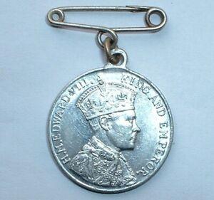 Rare-1937-British-Royalty-King-Edward-VIII-Coronation-Medal-NO-RESERVE