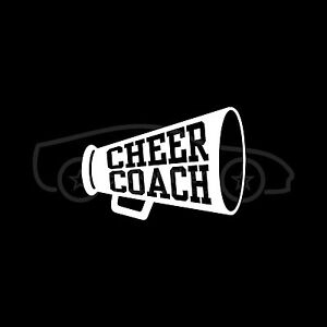 CHEER-COACH-Decal-Sticker-Cute-Cheerleading-Mom-Daughter-Dad-School-Team-Gift-V2