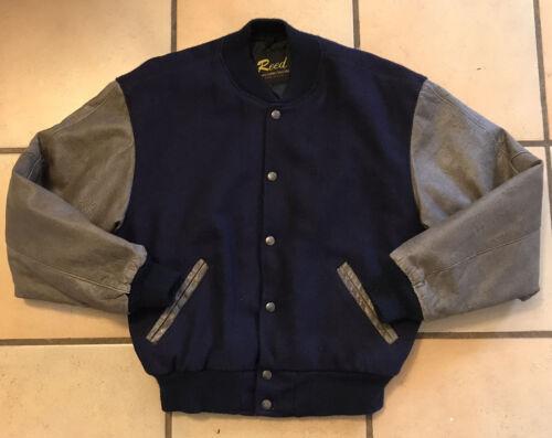 Reed Sportswear Vintage Varsity Jacket Made In USA