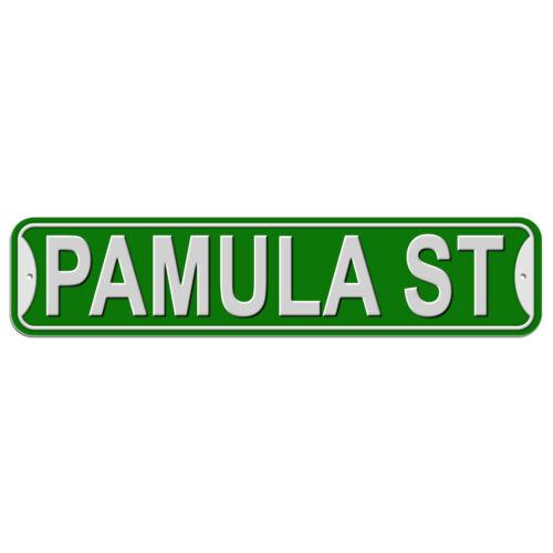 Plastic Wall Door Street Road Sign Names Female Pa-Pe