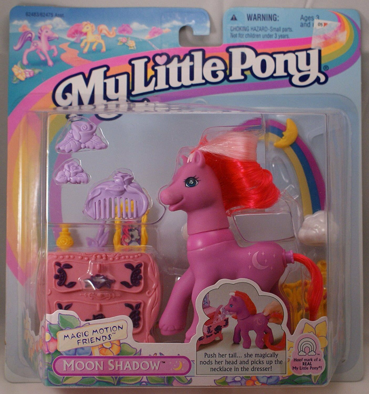 MLP G2 My Little Pony MOON SHADOW OMBRETTA 1997 Hasbro Magic Motion Vintage Rare