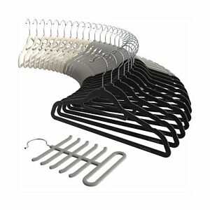 Velvet-Hangers-30-Pack-Sable-Ultra-thin-Space-Saving-Suit-Hangers