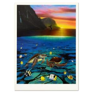 Wyland-034-Ancient-Mariner-034-Signed-Limited-Edition-Art-COA
