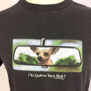 1ae7ad90 Image is loading Vintage-90s-Grunge-Yo-Quiero-Taco-Bell-Chihuahua-