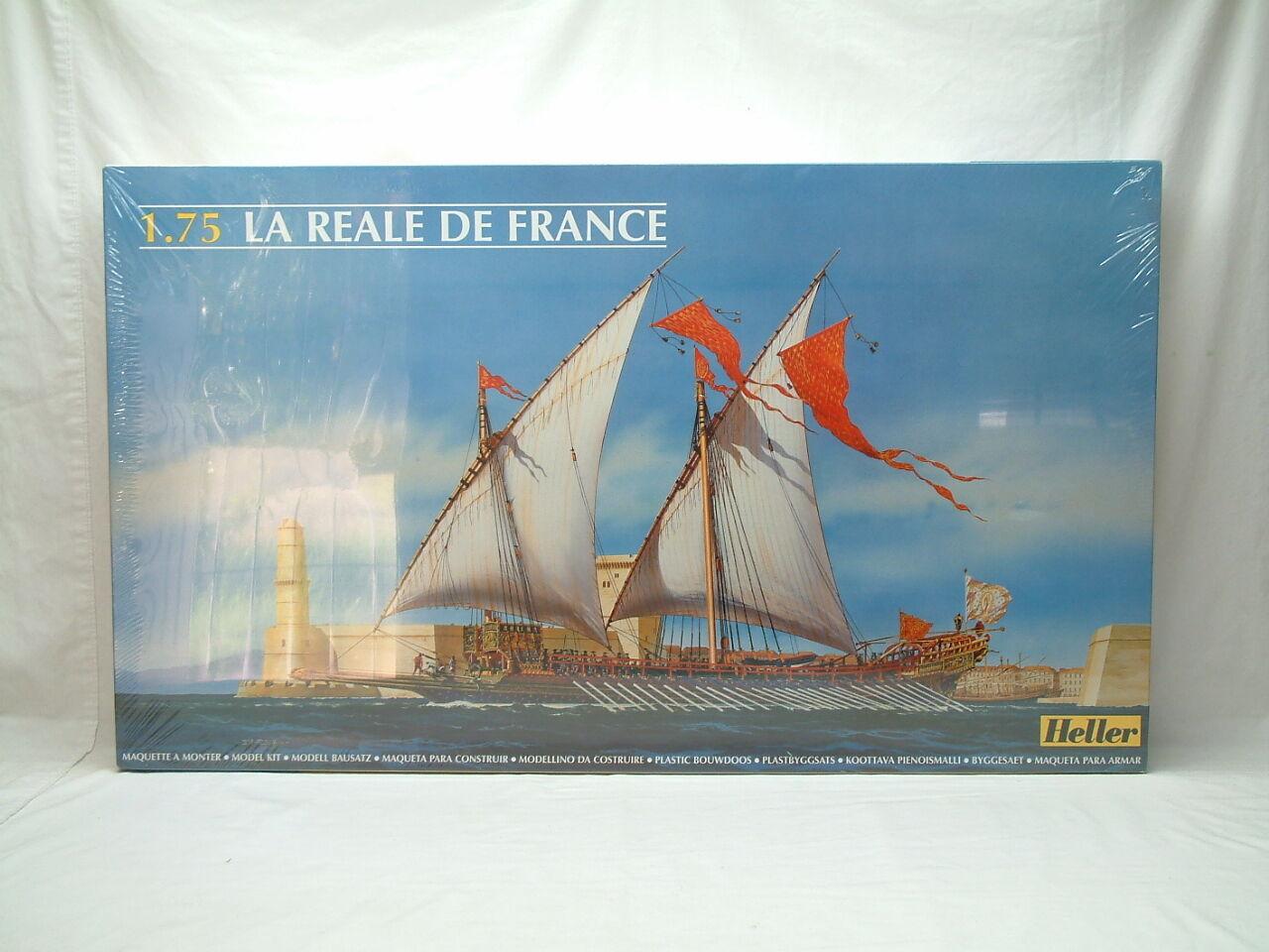 Sello del velero real francés Heller - ratio = 1   75