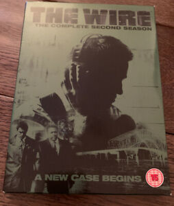 The-Wire-Series-2-Complete-DVD-2005-5-Disc-Set-Box-Set