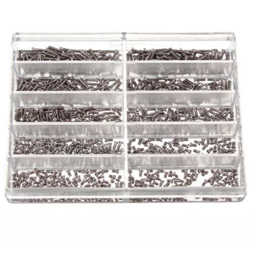 Schrauben Uhrmacherschrauben Mini Uhrmacherbedarf Uhrmacherwerkzeug 1000 tlg