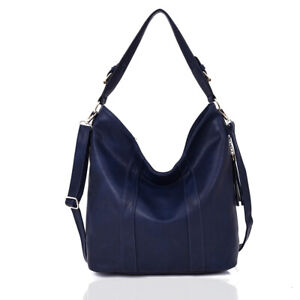 New-Womens-Designer-Style-Handbag-Girls-Slouchy-Shoulder-Bag-Tote-Style-Bag