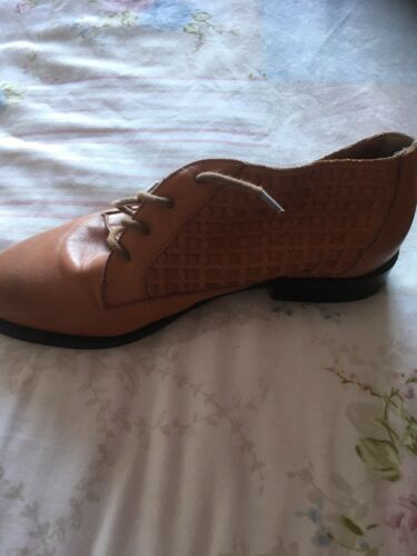 Brown 38 Shoes Leather Brown Brown Shoes Leather Schuh Schuh Schuh Leather 38 Shoes rTtwqr7