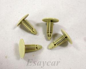 20Pcs Nylon Fastener Rivet Retainer Clip Trim Panel Honda Fit Nissan 18x20Pcs6mm