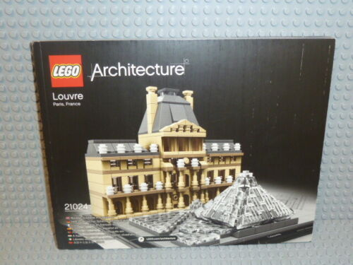 LEGO® Bauanleitung Architecture 21024 Louvre ungelocht instruction B3500