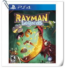 PS4 Rayman Legends SONY PlayStation Ubisoft Platform Games