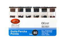 Gutta Percha Points 80 120box Vial Endodontic Obturation Dental Emporium