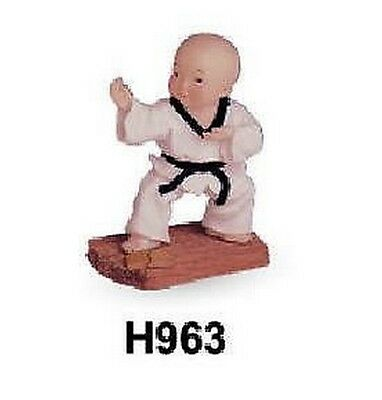 Other Combat Sport Supplies Statuetta Itf Taekwondo Wtf Tae Do Karate Figures Doshu Boxing, Martial Arts & Mma