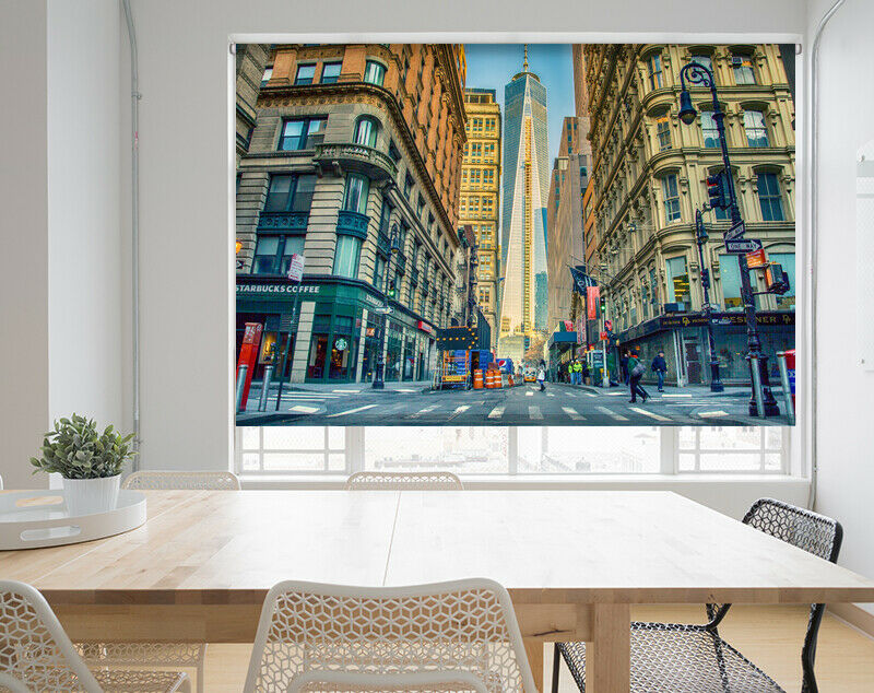 Manhattan Nueva York ver foto de Imagen Impreso Roller Ventana ciego apagón