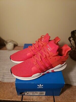 online retailer 4a0e1 2ec87 New. Mens Adidas EQT Support Adv Sneaker-Red White Size 9.5 ...