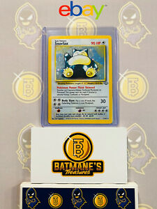 Snorlax-11-64-LP-Lightly-Played-Jungle-Set-Holofoil-Rare-Holo-Pokemon-Card