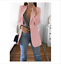 Women-Slim-Casual-Blazer-Jacket-Top-Outwear-Long-Sleeve-Career-Formal-Long-Coat thumbnail 10