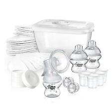 Tommee Tippee Closer to Nature Manual Breast Pump Breastfeeding Starter Set Kit