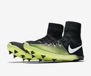 8be0a8a3b232 Nike Zoom Victory 4 XC Unisex Spike Shoes 878804 017 Black Size Men ...