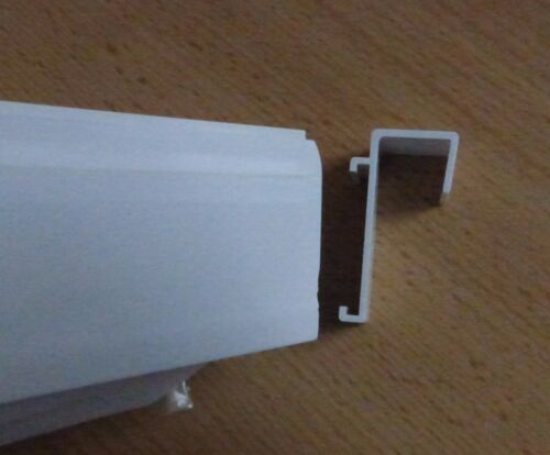 Klemmfix Double Roller Blind without drilling Duo Blind Clamp Carrier Side Pull Roller Blind