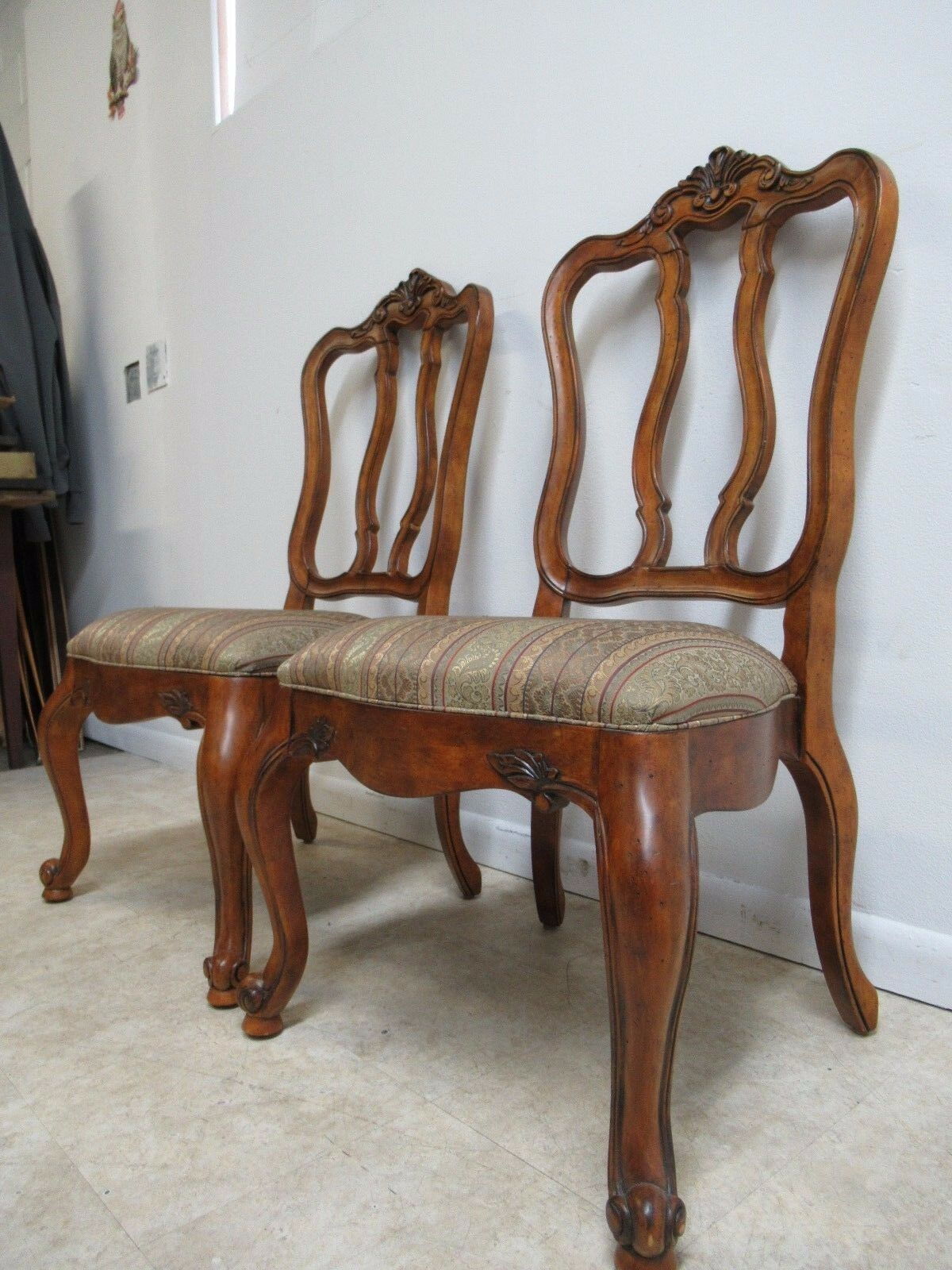 Ethan Allen Tuscany French Carved Dining Room Side Chair B