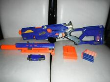 NERF GUN CS-6 Long Strike Sniper Rifle LongStrike LongShot Barrel Long Shot rare