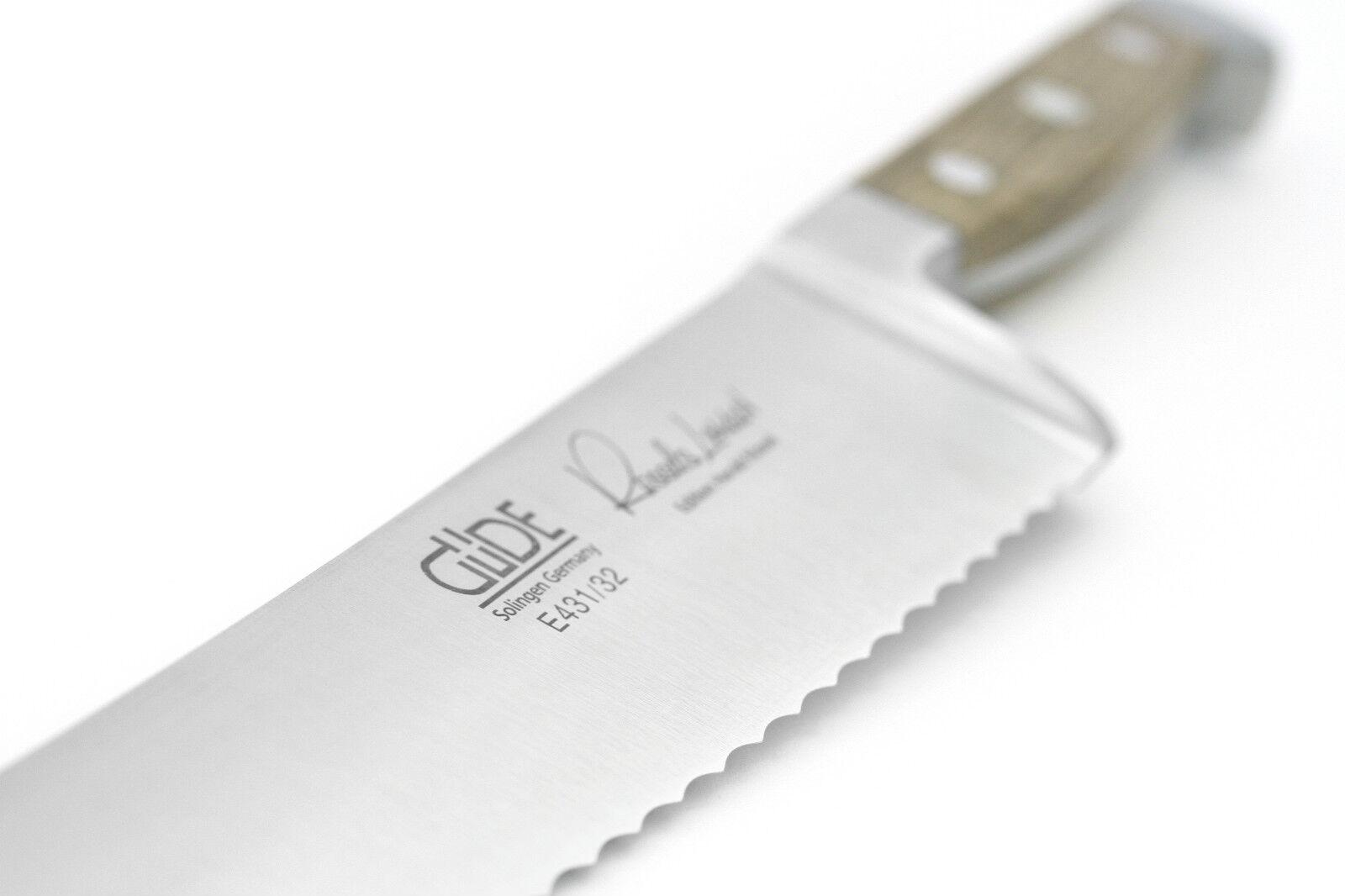 Grand Güde Couteau à pain ALPHA fasseiche e431 32