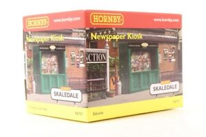 HORNBY 00 SKALEDALE - R8797 - STATION FURNITURE NEWSPAPER KIOSK - BOXED