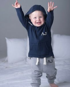 b1c392fc PERSONALISED INITIALS FIRST TRACKSUIT ~ UP TO 3 YEARS ~ NAVY, GREY ...