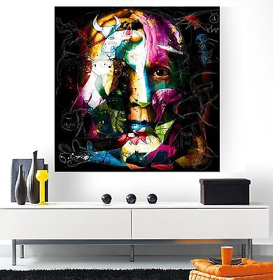 XXL BILD-POP-ART LEINWAND PABLO PICASSO 100x100x5 IKEA LOFT DESIGNE GEMÄLDE NEU