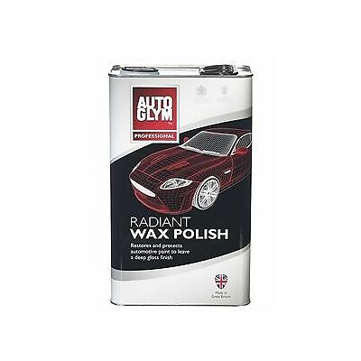 Autoglym Radiant Super Resin Wax Polish 5 LITRE 5L NEW *FREE DELIVERY*