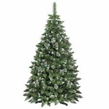 Weihnachtsbaum 220cm beschneit mit Ständer schwer entflammbar