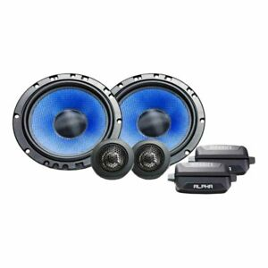 "HiFonics Alpha Series 6.5"" Component 2 way Speaker System HA65C"