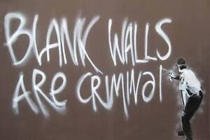 Banksy-Blank-Walls-Are-Criminal-Cop-Graffiti-Poster-A2-SIZE