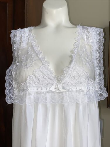 Vintage Christian Dior Nightgown Lingerie Beautifu