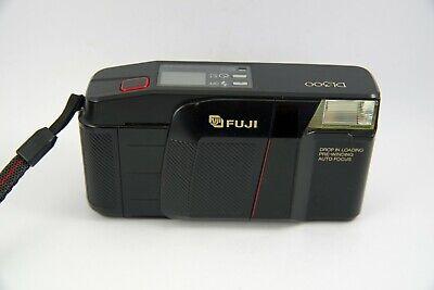 Vintage Fujifilm Smart Shot II Fuji Lomo Point Shoot Film Camera Tested Works Auto Focus 35mm Case