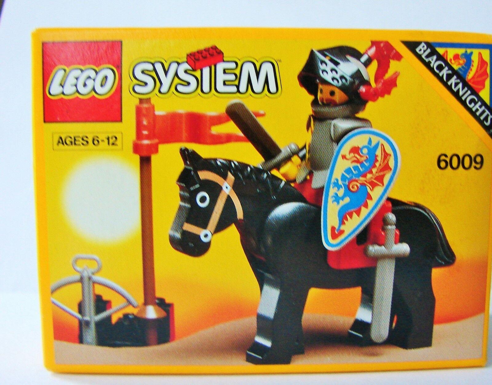 NUOVO LEGO CASTLE 6009 CAVALIERE NERO - 607m