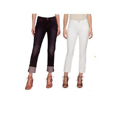 NEW! Jessica Simpson Midrise Straight Cuff Jeans Variety