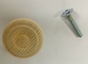 Dettagli Su Pomello Pomolo In Legno X Mobili Armadi Cassetti Materiale Abete Grezzo O 30 Mm