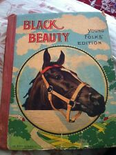 ANTIQUE BOOK 1900 BLACK BEAUTY YOUNG FOLKS EDITION ANNA SEWELL M.A. DONOHUE & CO