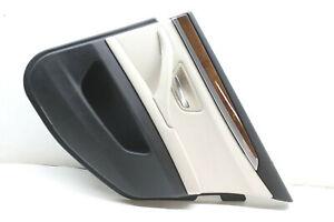 2011-BMW-528I-REAR-RIGHT-DOOR-PANEL-TRIM-BEIGE-OEM-11-12-13-14-15-16