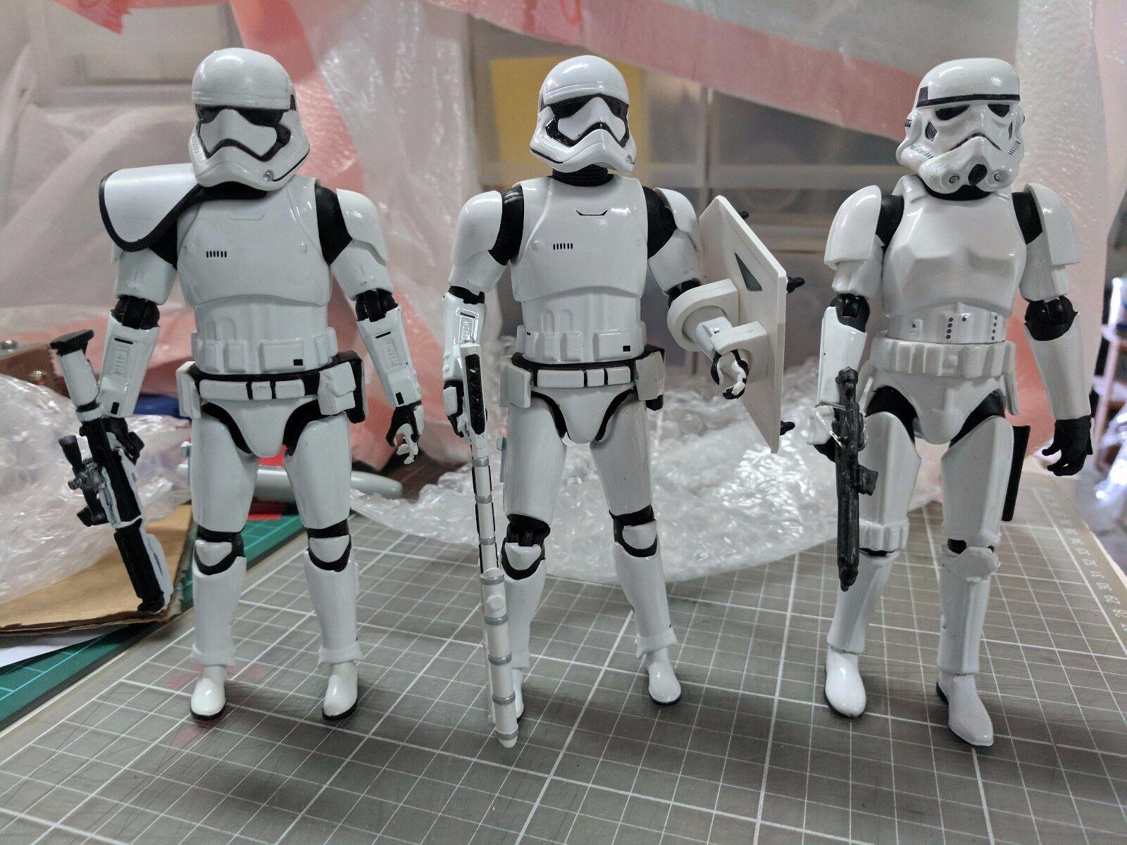 Star - wars - elite - serie spritzguss 6  erste Besteellung & classic stormtrooper satz 3