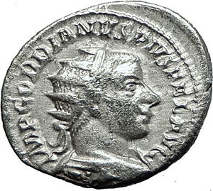 Gordian-III-243AD-Silver-Authentic-Genuine-Ancient-Roman-Coin-SOL-SUN-i59034