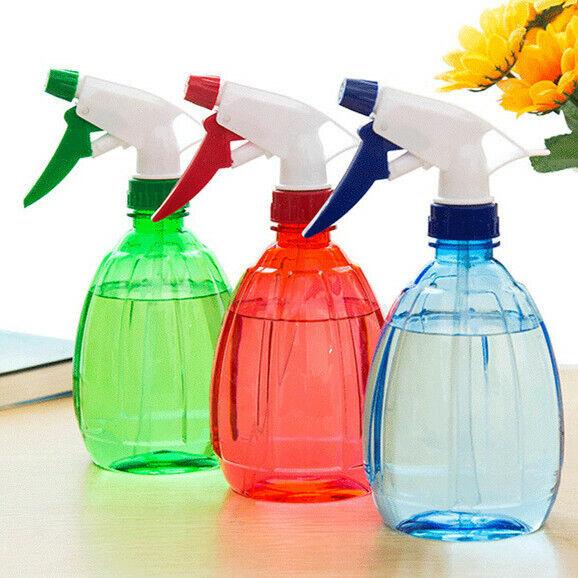 Water Spray Bottle Flowers Watering 500ml Home Cleaning Gardening Tools Bottles